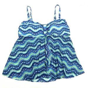 Croft & Barrow Tankini Bathing Swim Suit Top